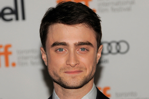 Daniel Radcliffe. Photo / AP