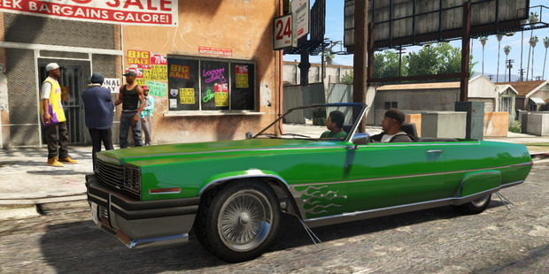Screen shot from the video game, Grand Theft Auto V.Photo / Rockstar Games