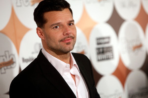 Ricky Martin says his book is based on his own experience as the father to twins.Photo / AP