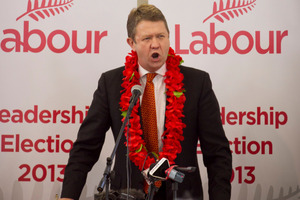 New Labour leader David Cunliffe. Photo / Natalie Slade