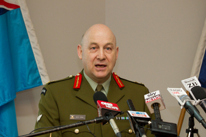 Chief of Defence Force Lieutenant General Rhys Jones. File photo / Greg Bowker