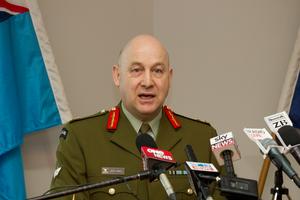 Chief of Defence Force Lieutenant General Rhys Jones. File photo / Greg Bowker