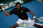 Gael Monfils of France is returning to NZ. Photo / Sarah Ivey