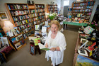 Doris Mousdale, owner of the Arcadia bookshop in Newmarket, Auckland. Photo / HOS