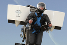 The NZ jetpack was developed by Christchurch inventor Glenn Martin. Photo / Martin Aircraft Company Limited
