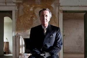 Actor Geoffrey Rush as Virgil in film The Best Offer.