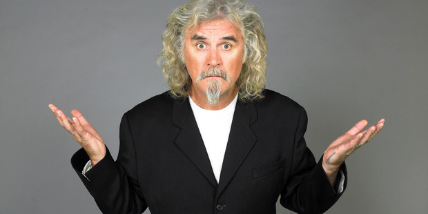 Billy Connolly has been treated for prostate cancer, and the early stages of Parkinson's.