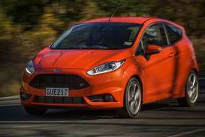 The Ford Fiesta ST is powered by a 1.6L Ecoboost engine. Photo / Ted Baghurst