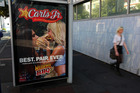 Some of Carl's Jr's US-made ads have been banned from TV here because they use sexual appeal in an exploitative and degrading manner. Photo / Chris Gorman