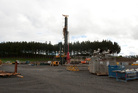 HBT132490-43.JPG Cheal E site pictured during a media visit to the Taranaki gas & oil drilling riggs and well sites on Tuesday 20th August 2013. Reporter: Patrick O'Sullivan Photographer: