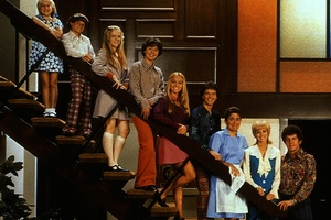 The Brady Bunch are one of the most famous blended families.