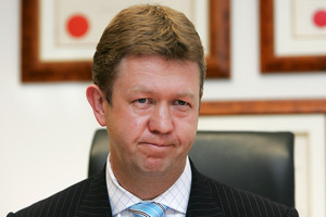 David Cunliffe has swung into action as new Labour leader today. File photo / APN