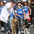 The Hastings SPCA had plenty of helpers to walk the dogs in the parade.   Photo / Duncan Brown