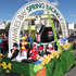 The Hawke's Bay Racing Centre float carries a number of children posing as jockeys.  Photo / Duncan Brown