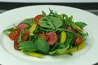 Minted Lamb Salad.