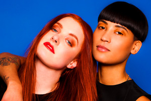 Swedish duo Icona Pop's debut album is due out at the end of this week.
