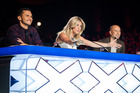 New Zealand's Got Talent judges (from left) Jason Kerrison, Rachel Hunter and Cris Judd.