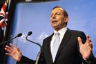 Tony Abbott. Photo / AFP