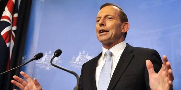 Tony Abbott. Photo / AFP