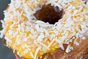 A lemon and curd cronut - croissant crossed with a doughnut - which takes the cake for Kate Stewart. PHOTO/FILE