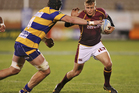 Robbie Robinson of Southland runs with the ball during the round six ITM Cup match between the Bay Of Plenty and Southland. Photo / Getty Images