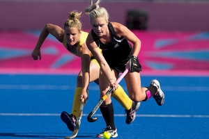 Black Sticks veteran Charlotte Harrison has been left out of the international team. Photo / Brett Phibbs