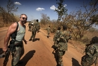 Reverend Sam Childers, a former Outlaw biker, hired gun, heroin addict and dealer, walks the roadway to Juba in South Sudan on a 'mission from God' to rescue orphans.