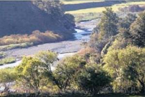 CONTENTIOUS: The Ruataniwha Dam site in Wakarara Rd, Ongaonga.