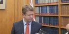 Watch: Cunliffe's first stand up as Labour leader