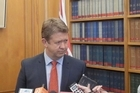 New leader of the Labour Party David Cunliffe addresses the media as he announces plans to elect the deputy leader tomorrow.