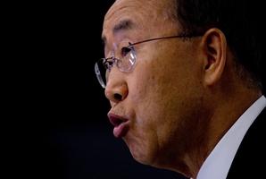 Ban Ki Moon. Photo / AP