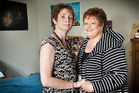The first husband of Dianne Collins (right) died of Huntingon's and her daughter Kimberley Dark (left) inherited it. Photo / Martin Hunter