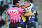 Matt Cecchin, pictured, and Henry Perenara have taken charge of their last game of the season. Photo / Getty Images