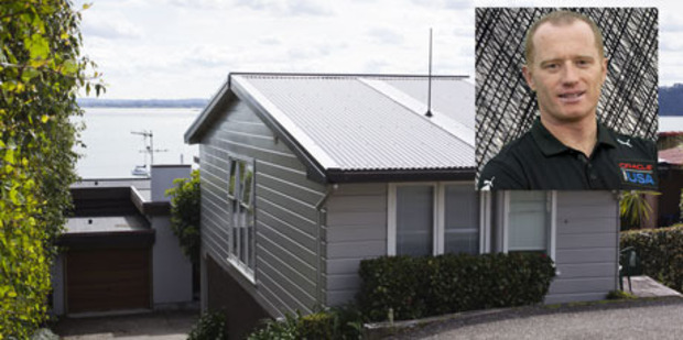 Jimmy Spithill owns this $5.3m property in Herne Bay - just a few doors down his nemesis Dean Barker. Photo / NZ Herald