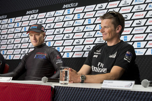 Jimmy Spithill and Oracle Team USA need seven more wins to complete one of the greatest comebacks in sport. Photo / Brett Phibbs