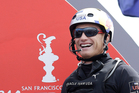 Oracle Team USA skipper Jimmy Spithill. Photo / AP