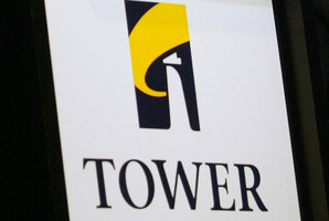 Profits at Tower were$34.4 million in the year ended September 30, from $55.8 million a year earlier.
