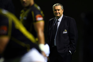 Chris Boyd, Head Coach of Wellington. Photo / Getty Images