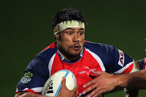 Tasman captain Shane Christie scored Tasman's first-half try from a lineout drive. Photo / Getty Images