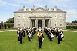 The Band of Her Majesty's Royal Marines, which will play a one-off concert at Wanganui Collegiate. PHOTO/SUPPLIED