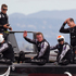 Emirates Team New Zealand after loss to Oracle Team USA in Race 13 of the America's Cup. Photo / Brett Phibbs
