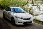 Honda Accord 3.5 V6 Photographed in Auckland for Driven. 23 September 2013 NZ Herald photo by Ted Baghurst.