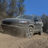 The Jeep Cherokee Limited in action at the launch in California.