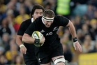 LAID LOW: Kieran Read will miss the action tomorrow.PHOTO/AP