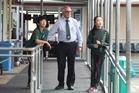Education Tauranga chairman Graeme Lind says international students like 10-year-olds Jiwon Park, left, and Ga Eun Bae, both from Korea, contribute to the city's economy. Photo / John Borren