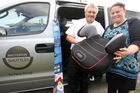 PROTECTING THEIR TAONGA: Chris and Te Paea Rangi of Masterton Shuttles make sure to carry car seats in their shuttle - although they are exempt by law - to protect