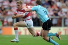 Sam Tomkins of Wigan, has signed a three-year deal to play for the Warriors. Photo / Getty Images