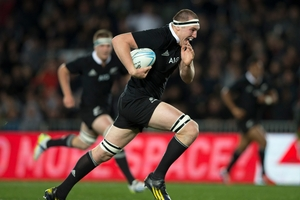 All Black lock Brodie Retallick has a busy two weeks coming up. Photo / Brett Phibbs