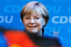 Angela Merkel's win has boosted her status in the eurozone crisis. Photo / AP