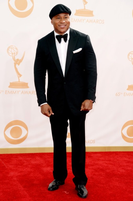 Actor LL Cool J arrives at the 65th Annual Primetime Emmy Awards. Photo / AFP